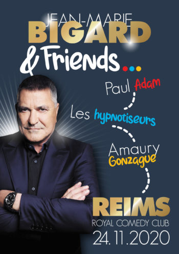 Jean-Marie Bigard - Royal Comedy Club - Reims (51)