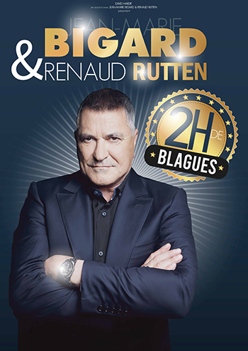 Jean-Marie Bigard & Renaud Rutten - Le Pacbo - Orchies (59)